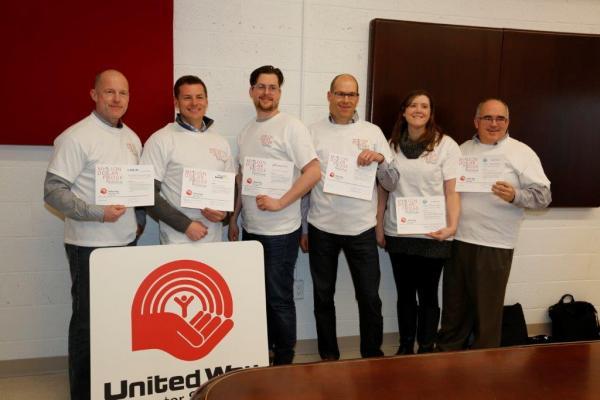 TSD joins United Way's Million Dollar Pledge Club