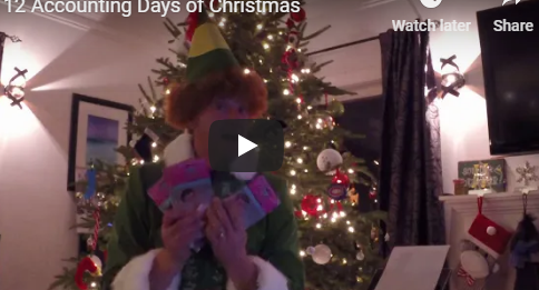 The 12 Accounting Days of Christmas